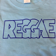 REGGAE T-SHIRT PALE BLUE